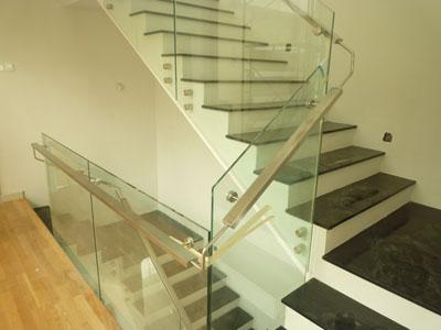 jual kaca railing tangga